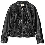 ONLY Damen Bandit PU Biker Jacke, Schwarz (Black C-N10), 42(XL)