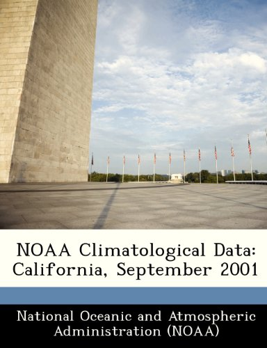 NOAA Climatological Data: California, September 2001