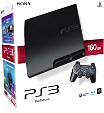 Sony PlayStation 3 160GB Slim Console with DualShock Wireless Controller