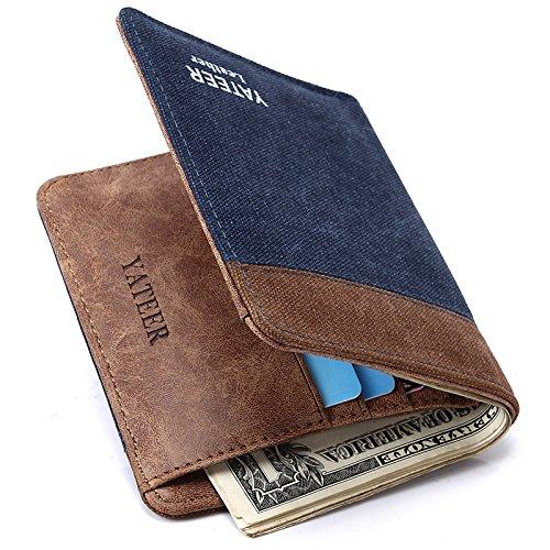 Herren Brieftasche, Geldbörse für Herren, Karte, Tasche, Sieben Eight