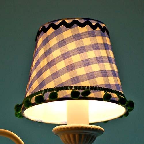 lounge-zone Lüster Kronleuchter Kinder-Kronleuchter  LEA 3 Lampenschirme - 2