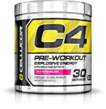 Cellucor - C4 Premium Pre Workout Powder with Creatine, Beta Alanine, and TeaCor for High Performance (195g) - Watermelon - 30 Servings