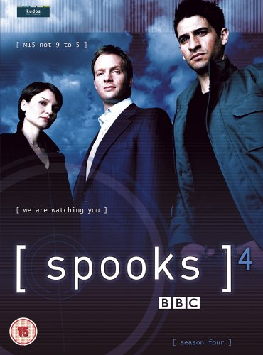Spooks - Complete Series 4 [UK Import] [5 DVDs] Simpsons-box-set