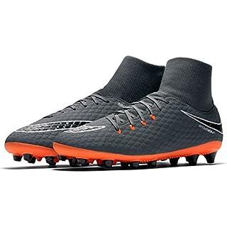 Nike - Hypervenom Phantom 3 Academy DF Agpro Fast AF - AH7266081 - Farbe: Orangefarbig-Schwarz - Größe: 42.0