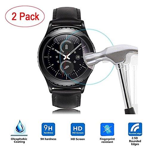 hunpta 2pc HD Schutzfolie Intelligente LCD-Display Schutz Compatible Für Samsung Gear S3Classic Smart Watch, farblos - Intelligentes Lcd