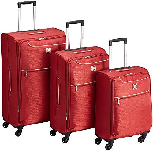 HAUPTSTADTKOFFER Koffer-Set, 70 cm, 168 Liters, Rot
