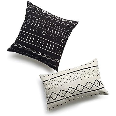 Hof Deco Set Di 2decorativo lombare cuscino