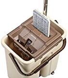 #7: Flat Mop. The Only Self-Wash and Squeeze Dry Flat Mop with additional Handle Extension