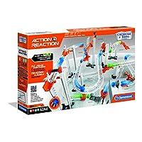 Clementoni- Action & Reaction Master Kit (Portuguese Version) Building Game, Multi-Colour (67628)