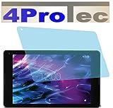 4ProTec 2 Stück GEHÄRTETE ANTIREFLEX Bildschirmschutzfolie für Medion LIFETAB P8502 MD99814 Displayschutzfolie Schutzhülle Bildschirmschutz Bildschirmfolie Folie
