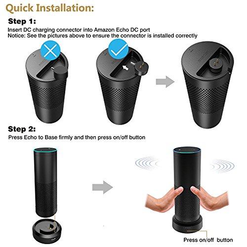 smatree ae9000 intelligent batterie basis 9000mah f r echo. Black Bedroom Furniture Sets. Home Design Ideas