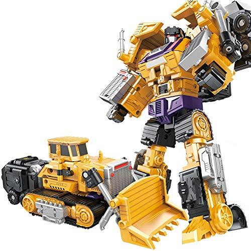 Transformer Le Robot-Une Combinaison Créative De Transformations De Camion De Robot Transforme La Voiture Pour Les Garçons