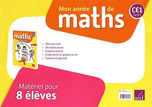 Mon année de maths CE1 : Matériel pour 8 élèves