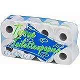 wepa recyclage rouleaux–2plis–Blanc–64Papier Toilette