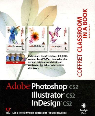 Coffret Photoshop CS2, Illustrator CS2, InDesign CS2