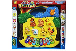 Shopaholic Kids Animal Paradise Sound Toy With Musical Piano.