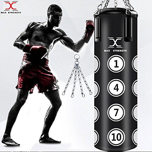 Borsone 1,5m riempito punch Bags Heavy Duty UFC Kick Boxing MMA karate professionale palestra allenamento