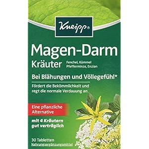 Kneipp Magen-Darm Kräuter, 2er Pack (2 x 30 Tabletten)