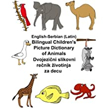 English-Serbian (Latin) Bilingual Children's Picture Dictionary of Animals (FreeBilingualBooks.com)