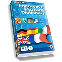 English Interactive Picture Dictionary (French, Italian, German, Spanish)