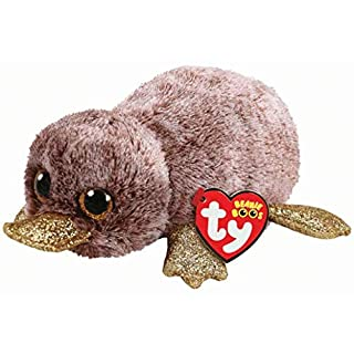 Ty 36218Perry Platypus 15cm Beanie Boo's, Brown