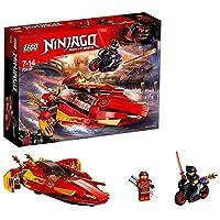 LEGO 70638 NINJAGO Katana V11 Boat Toy with Speed and Attack Modes, Masters of Spinjitzu playset