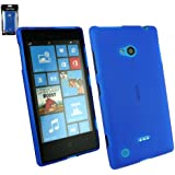 Emartbuy ® Nokia Lumia 720 Frosted Muster Gel Skin Cover Blau