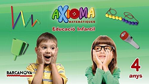 Axioma. Matemàtiques P4. Carpeta de l ' alumne (Materials Educatius - Parvulari - 4 Anys) - 9788448934583