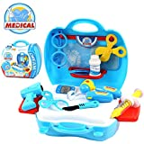 [Sponsored]FunBlast® Doctor Kit Toys For Kids, (Set Of 18 Pcs) Doctor Kit Pretend Play Doctor Play Set Medical Carry Case Nurses Toy Set Fun Toy Gift Early Education For Kids