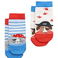 Joules Baby Socks 2 Pack Pirate Dog BabyNeatFtB
