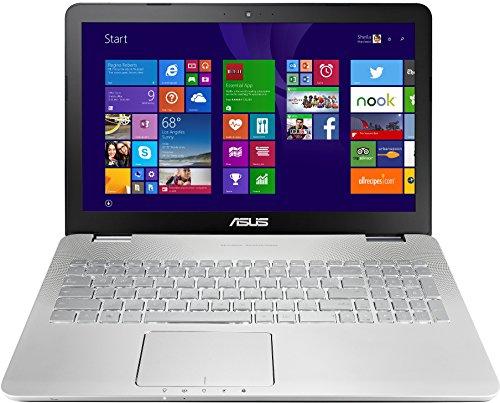 Asus N551JX-CN081H 39,6 cm (15,6 Zoll) Notebook (Intel Core i7 4720HQ, 3,5GHz, 8GB RAM, 1TB HDD, 128GB SSD, NVIDIA GF GTX 950M(4GB), Blu-ray, Win 8.1, es Display) silber