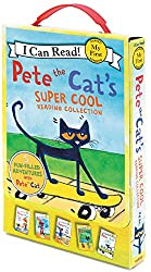 Pete the Cat's Super Cool Reading Collection: Too Cool for School/Play Ball!/Pete at the Beach/Pete's Big Lunch/A Pet for Pete (I Can Read! My First Shared Reading (HarperCollins)) by James Dean (8-Jul-2014) Paperback
