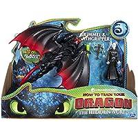 Dragons DreamWorks Deathgripper and Grimmel, Armored Viking Figure