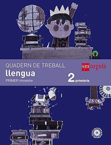 Quadern de llengua. 2 Primària, 1 Trimestre. Saba - 9788467579291