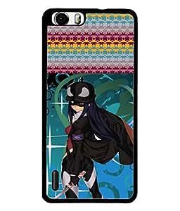 PrintVisa Designer Back Case Cover for Huawei Honor 6 Plus (Princess Fairy Warrior Fighter)