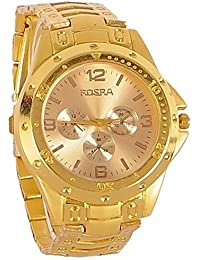 6e49b28b2a46a Sky MART New Arrival Special Collection Rosra Fullgold Watch for Men