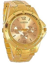 Glowish Presents Rosra Fullgold Watch For Men | Fashion Wrist Watch | Men Watch