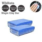WildAuto - Barra di argilla pulita magica - Per veicolo di veicoli - Rimozione di fanghi -Blu - 2 pezzi (2 pezzi)