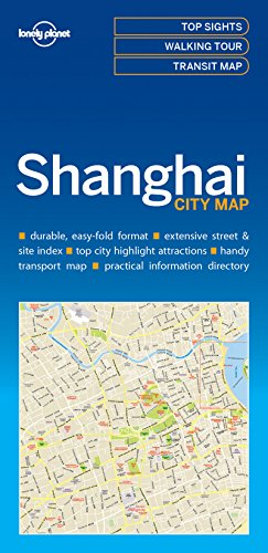 Lonely Planet Shanghai City Map por Lonely Planet