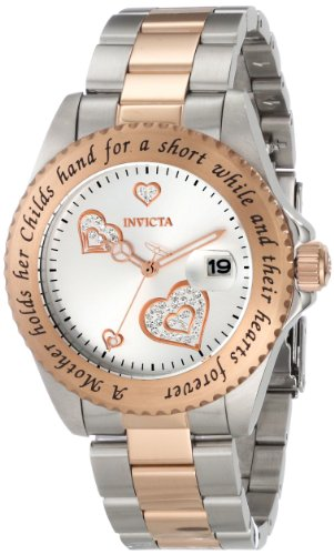 INVICTA Angel Damen-Armbanduhr Armband Edelstahl GEHäUSE + Quarz ANALOG 14731