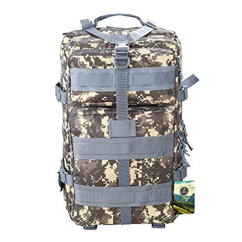 Imagen de topqsc  militar impermeable de moda 30l para excursionismo montañismo y viaje al aire libre  deportiva de alta calidad 5 colores  acu 45l