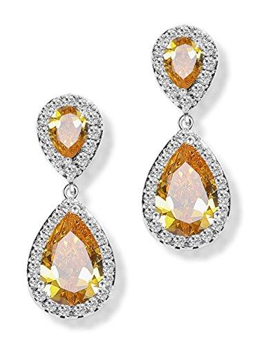 lixinsunbu-teardrop-dangle-cubic-zirconia-gold-plated-earrings-bridal-engagement-gift