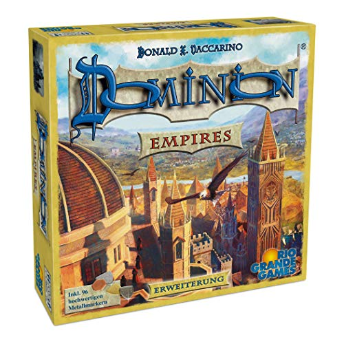 Rio Grande Games 22501410 - Dominion Erweiterung - Empires -