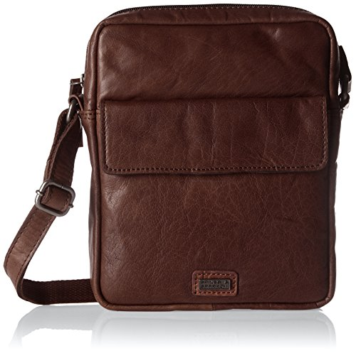Spikes & Sparrow - Crossover Bag, Borse a tracolla Donna Marrone (Dark Brown)