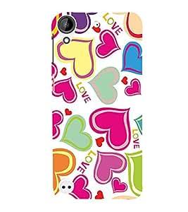 PrintVisa Designer Back Case Cover for HTC Desire 530 (printers HD ready ultra stylespen)