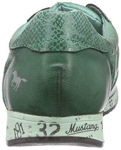 Mustang1226-401-555 Scarpe sportive, Donna, Grün (700 dunkelgrün)