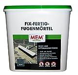 MEM Fix&Fertig Fugenmörtel, basalt, keine Ameisen, keine Pfützen, kein Unkraut, 12,5 kg