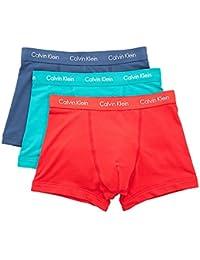 Calvin Klein Mens Ck 3Pp Bright Trunks