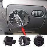Zyurong nuovo veicolo auto elettrica faro controllo interruttori pulsanti adatto per, R32, MK5MK6MK5MK6Golf R Passat B6Passat CC Tiguan EOS