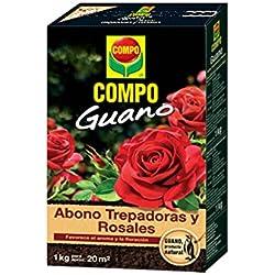 Compo 1275122011 Guano Trepadoras y Rosales 1 kg, 22x14.2x4.7 cm